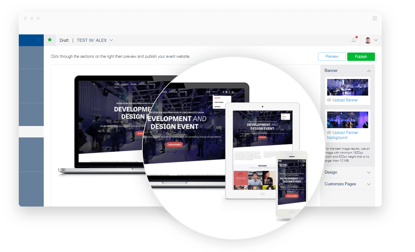 Event Website Builder