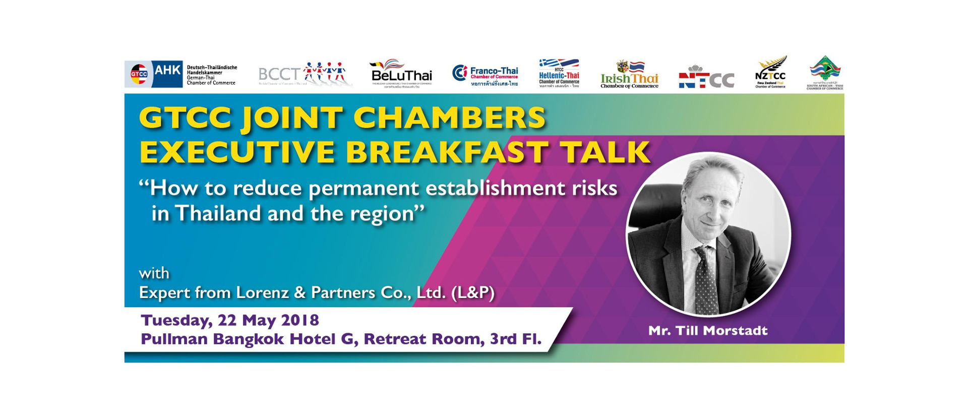 GTCC Joint Chambers Executive Breakfast Talk