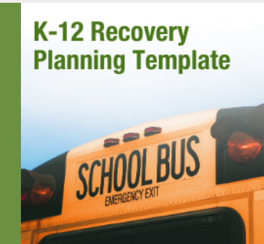 K-12 RECOVERY PLANNING TEMPLATE