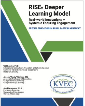 RISE2 DEEPER LEARNING MODEL: REAL-WORLD INNOVATIONS = SYSTEMIC ENDURING ENGAGEMENT