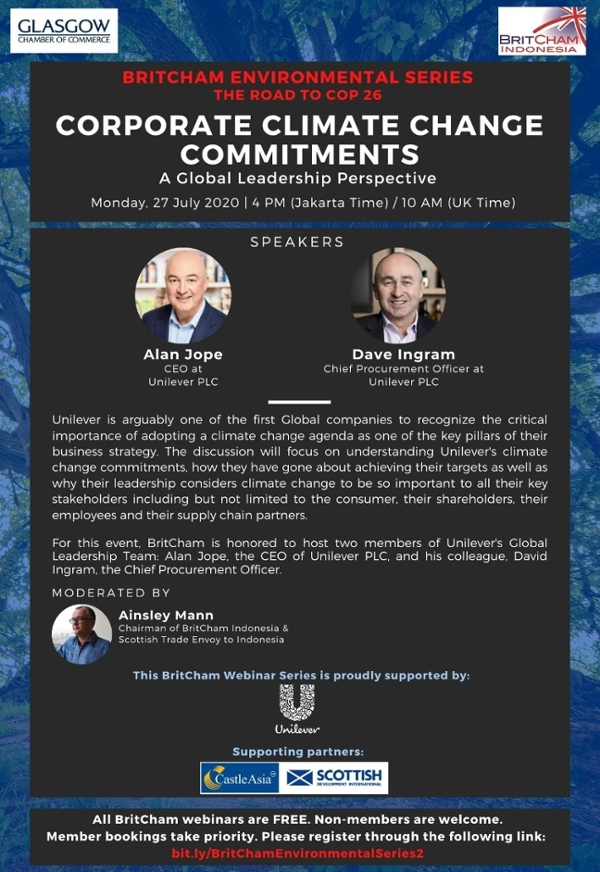 Corporate Climate Change Commitments - A Global Leadership Perspective