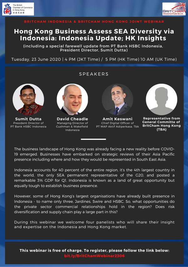 Hong Kong Business Assess SEA Diversity Via Indonesia: Indonesia update; HK Insights
