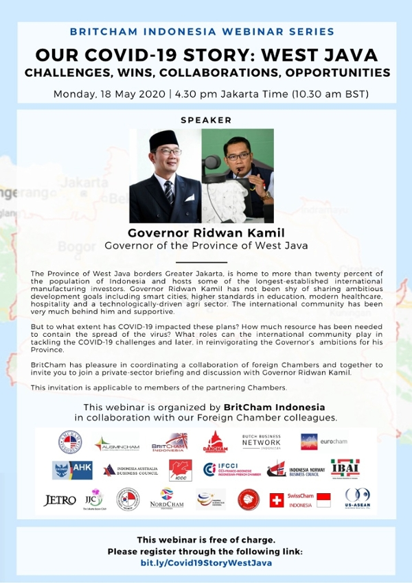 Our COVID-19 Story: West Java - Challenges, Wins, Collaborations, Opportunities with Governor Ridwan Kamil (Governor of West Java)