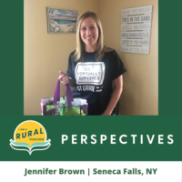 Jennifer Brown, Seneca Falls, NY New York native returns home to