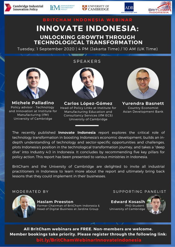 Innovate Indonesia: Unlocking Growth Through Technological Transformation