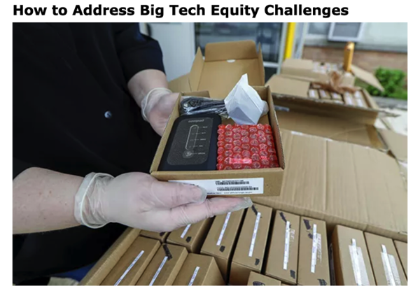 How to Address Big Tech Equity Challenges