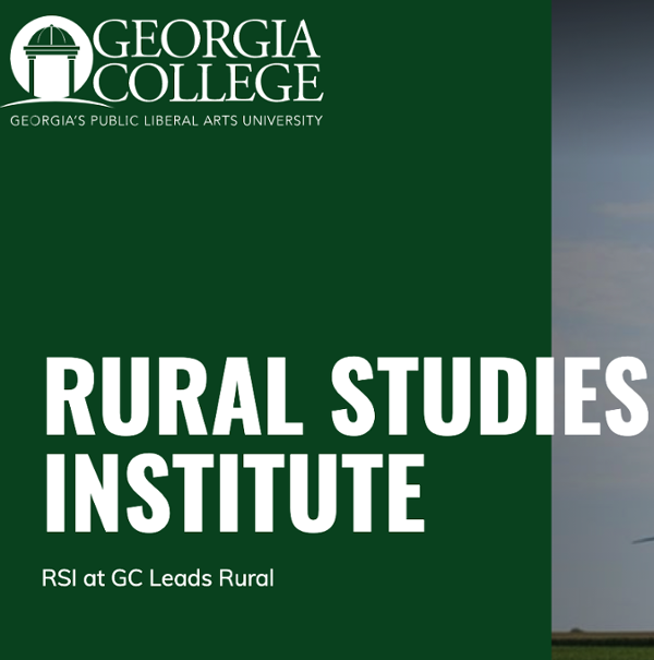 RURAL STUDIES INSTITUTE RSI at GC Leads Rural