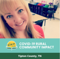Kathryn Vaughn, Tipton County, Tennessee Teaching Art in the Covid-19 Environment