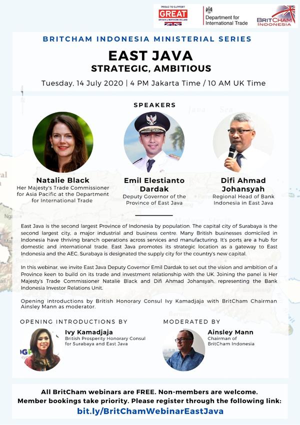 BritCham Ministerial Series: East Java