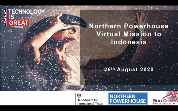 Northern Powerhouse Virtual Tech Trade Mission to Indonesia