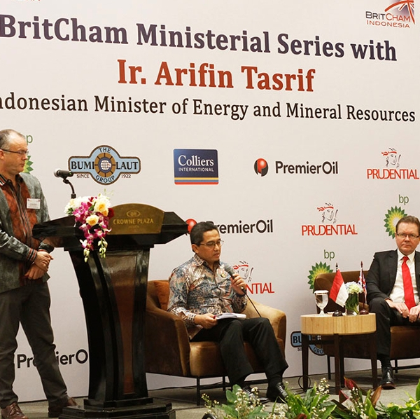 BritCham Ministerial Series with Ir. Arifin Tasrif (Indonesian Minister of Energy and Mineral Resources)