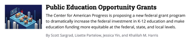 Public Education Opportunity Grants
