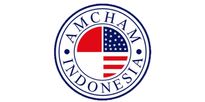 The American Chamber of Commerce in Indonesia logo