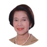 Ms. Corazon D. Conde (Chairperson at PCAAE Board of Trustees)