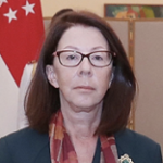 H.E. Eugenia Barthelmess (Ambassador of Brazil to Singapore)