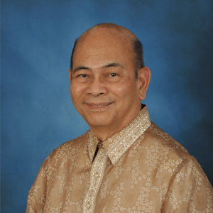 Dr. Bernardo Villegas (Writer and Economist/ Professor at University of Asia and the Pacific)