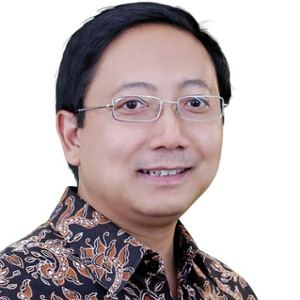 Agustinus Prasetyanoko S.E., M.Sc. Ph.D. (Rector at Atma Jaya University)
