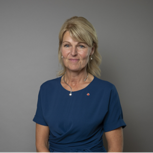 Anna Hallberg (Sweden's Minister for Foreign Trade and Nordic Affairs)