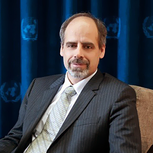 Mr. Stefan Priesner (UN Resident Coordinator for Malaysia.)