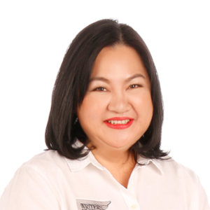 Sheila Samonte-Pesayco (President and CEO of Writers Edge)