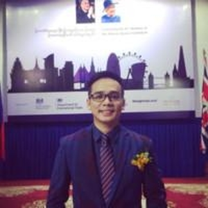 Sitoma Him (Head of Business Services, BritCham Cambodia)
