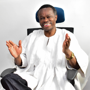 Prof. PLO Lumumba (Professor of Law & Advocate à High Courts of Kenya and Tanganyika)