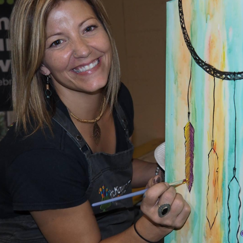 Aimee Pelley (Owner/Artist, Paint Your Town)