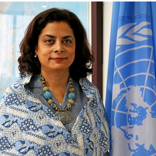 Anita Nirody (UN Resident Coordinator at United Nations in Indonesia)